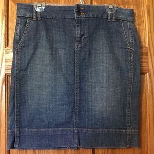 Women's Gap Denim Jean Skirt Size 8
